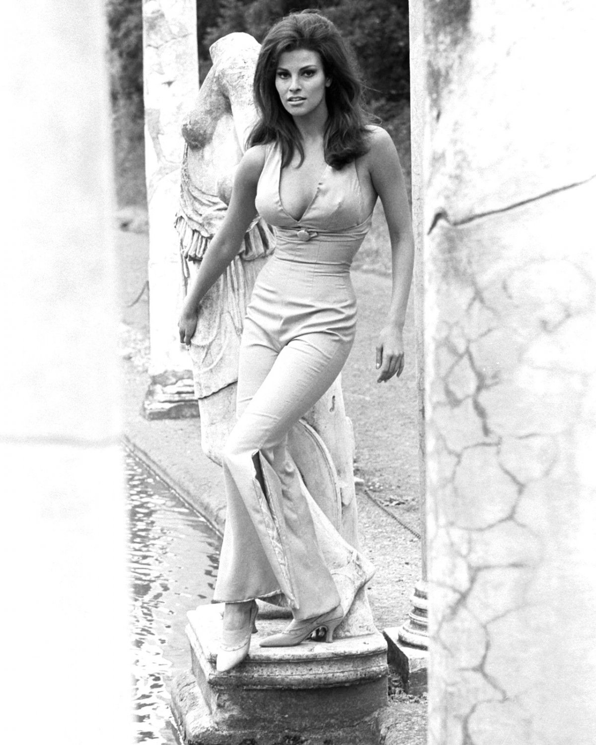 RAQUEL WELCH ACTRESS AND SEX-SYMBOL - 8X10 PUBLICITY PHOTO (SP-028)