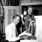 "JAMES STEWART & DORIS DAY ON SET ""THE MAN WHO KNEW TOO MUCH"" 8X10 PHOTO (DA-795)"