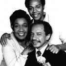 "SHERMAN HEMSLEY ISABEL SANFORD MIKE EVANS ""THE JEFFERSONS"" - 8X10 PHOTO (EE-172)"