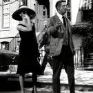 "AUDREY HEPBURN & GEORGE PEPPARD IN ""BREAKFAST AT TIFFANY'S"" 8X10 PHOTO (NN-226)"