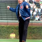 RONALD REAGAN FIRST PITCH @ WRIGLEY FIELD 1988 CHICAGO CUBS 8X10 PHOTO (ZY-417)