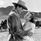 "JOHN WAYNE & COLEEN GRAY IN THE FILM ""RED RIVER"" - 8X10 PUBLICITY PHOTO (ZY-405)"