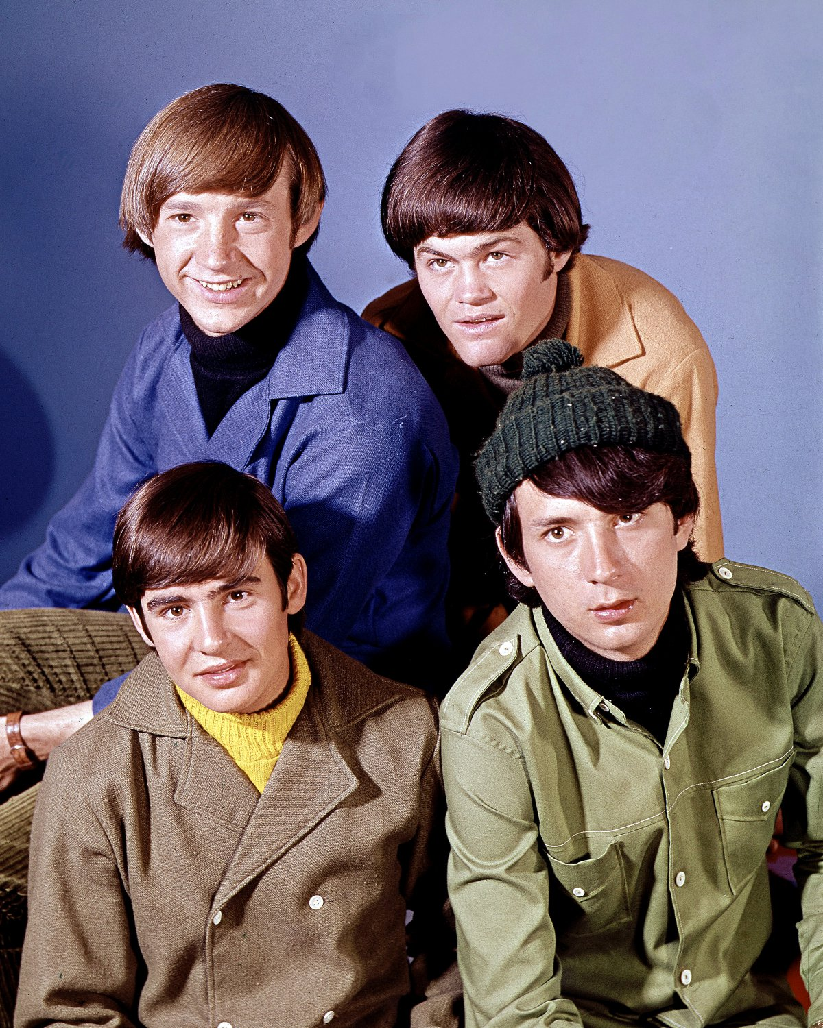 "DAVY JONES MICHAEL NESMITH PETER TORK DOLENZ ""THE MONKEES"" - 8X10 PHOTO (ZY-415)"