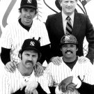 BILLY MARTIN STEINBRENNER REGGIE JACKSON & MUNSON YANKEES - 8X10 PHOTO (ZY-436)