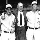 CONNIE MACK, MICKEY COCHRANE & LEFTY GROVE OF THE PHILADELPHIA ATHLETICS - 8X10 PHOTO (ZY-448)