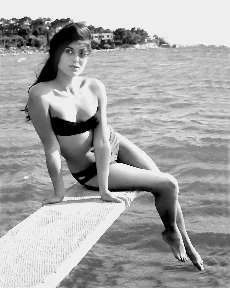 DALIAH LAVI ISRAELI ACTRESS, SINGER AND MODEL - 8X10 PUBLICITY PHOTO (ZY-482)