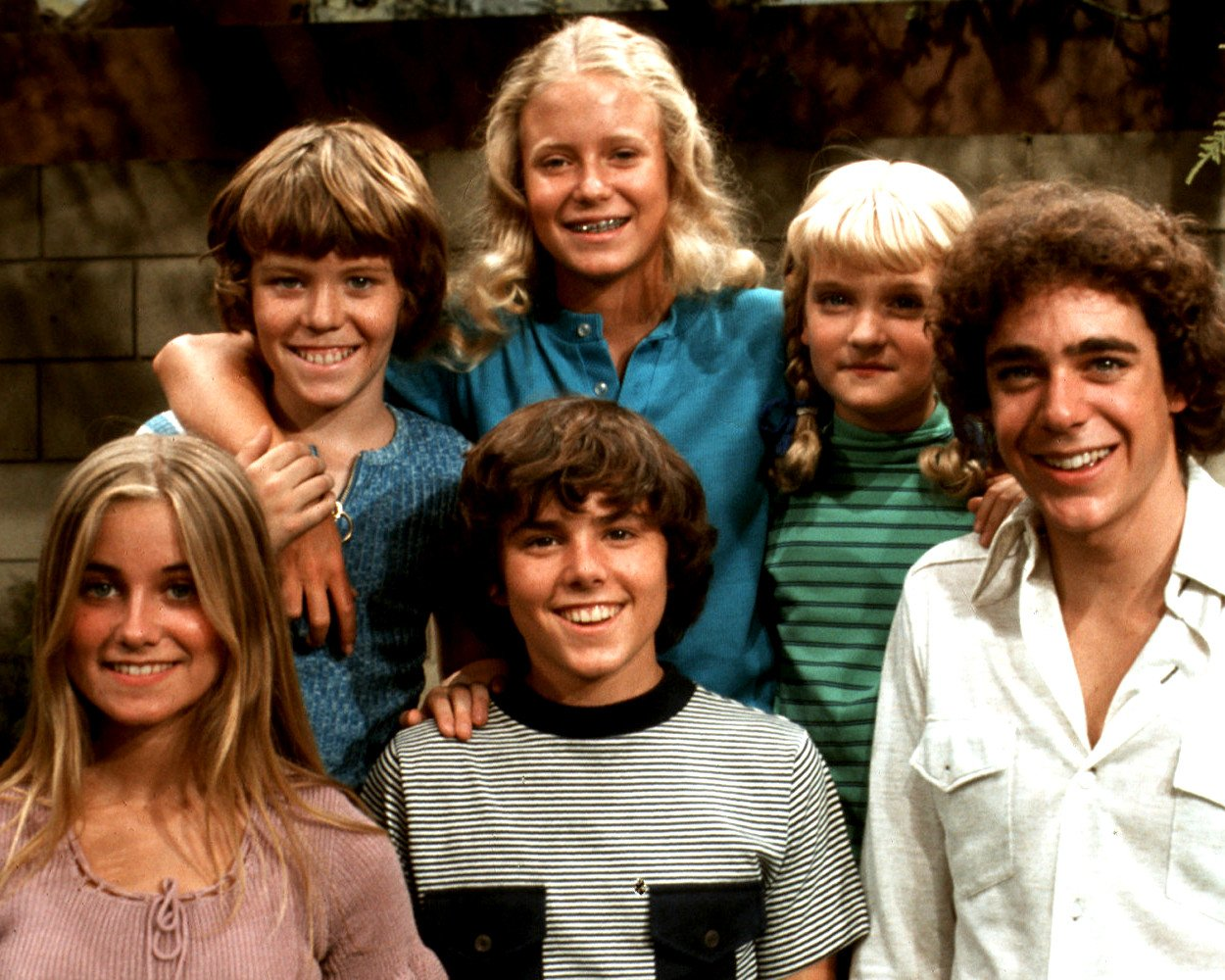 """THE KIDS FROM """"THE BRADY BUNCH"""" - 8X10 PUBLICITY PHOTO (ZY-648)"""