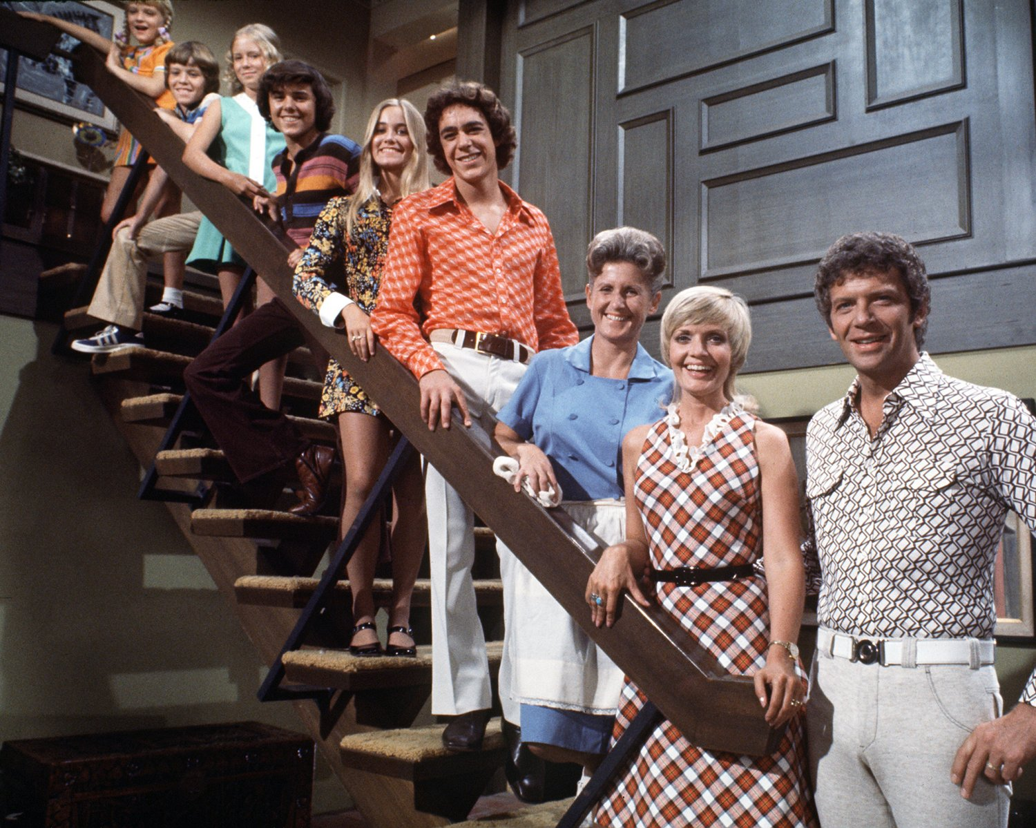 """THE BRADY BUNCH"" FLORENCE HENDERSON ROBERT REED - 8X10 PUBLICITY PHOTO (ZY-649)"