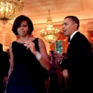 BARACK OBAMA & MICHELLE DANCE DURING GOVERNORS BALL IN 2010 8X10 PHOTO (ZY-541)