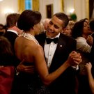 BARACK OBAMA & MICHELLE DANCE DURING GOVERNORS BALL IN 2009 8X10 PHOTO (ZY-548)
