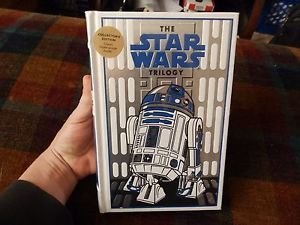 STAR WARS TRILOGY ~ LEATHER BOUND GIFT ED ~ R2D2 COVER w/FREE POSTER