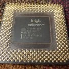 Vintage Intel celeron processor gold pinsset