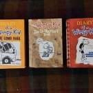 WIMPy KID 3 book hardcover LOT of 3