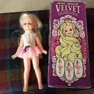 Vintage Velvet crissy movin groovin doll and box from ideal
