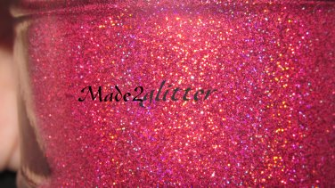 Holographic Plum Red