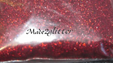 Holographic Wine Red