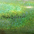 Holographic Lime Green
