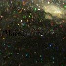 Holographic Black Tinsel