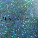 Holographic Turquoise Tinsel
