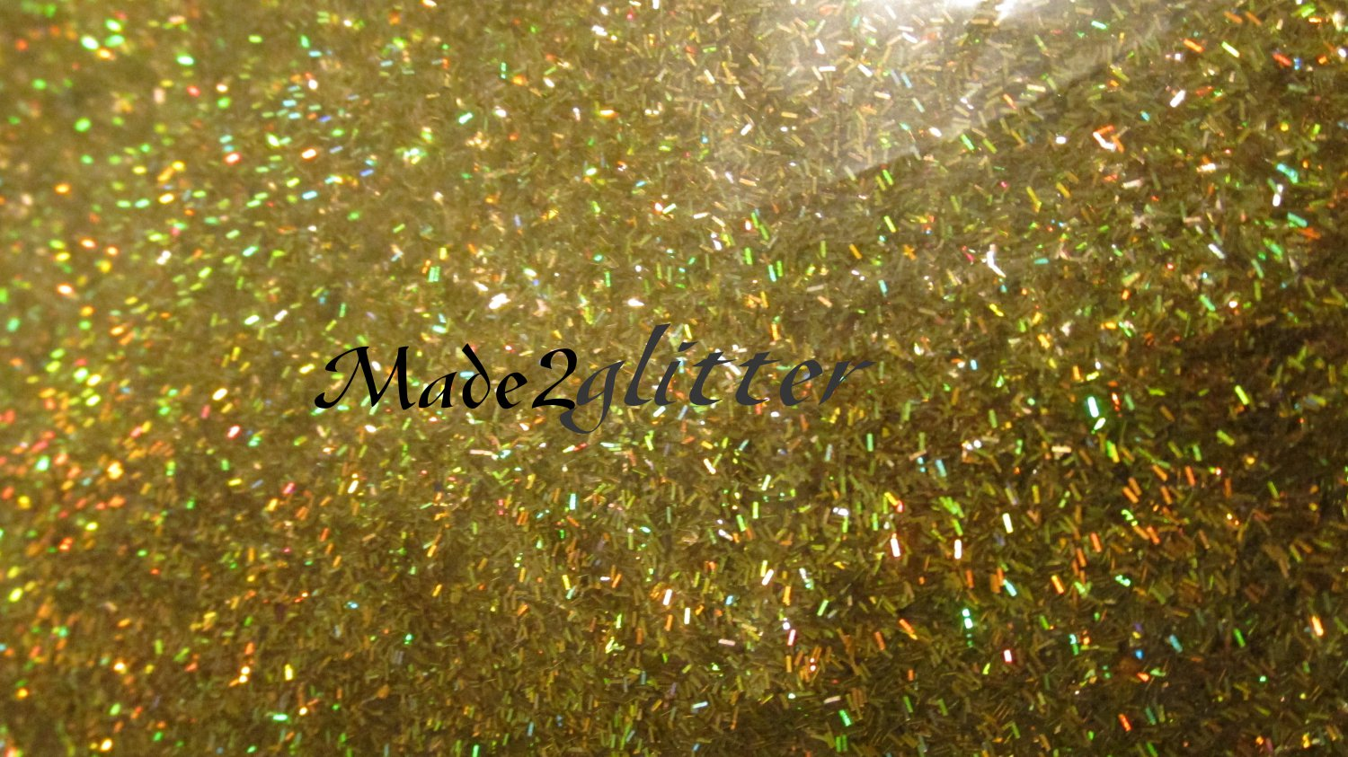Holographic Gold Tinsel