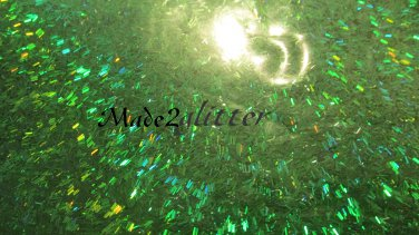 Holographic Green Tinsel