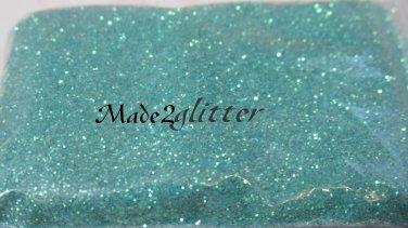 Iridescent sea foam green
