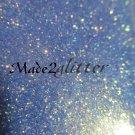 Iridescent periwinkle glitter (gold )
