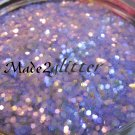 Iridescent Purple hexagon glitter