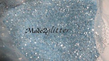 Light blue Glitter