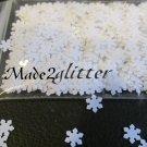 White snowflake spangles
