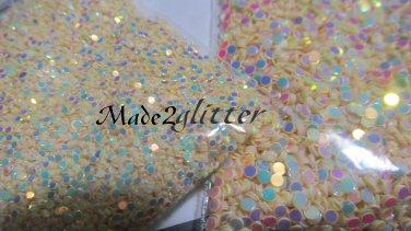 Cream glitter dots