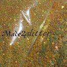 Yellow glitter dots