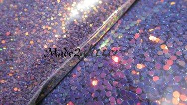 Purple glitter dots