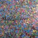 Glitter dots Tuti fruity