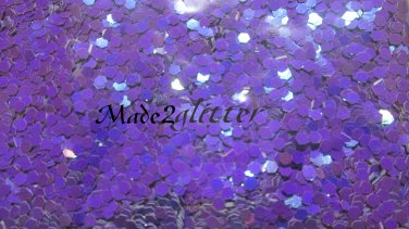 Purple glitter hexagons