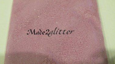 Matte lilac glitter
