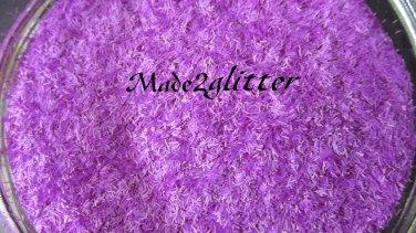 Neon Purple tinsel strips