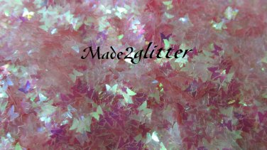 Pink iridescent Butterflies