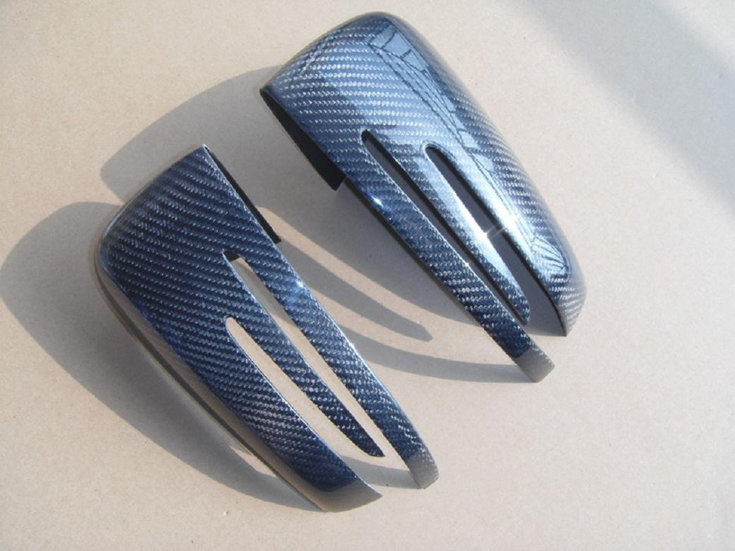 Carbon Fiber Mirror Covers For Mercedes Benz CLS Shooting brake 2012-2014
