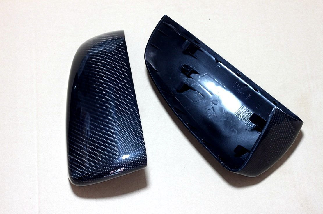 Carbon Fiber Mirror Covers Replacement For BMW X5 E70 2007-2013