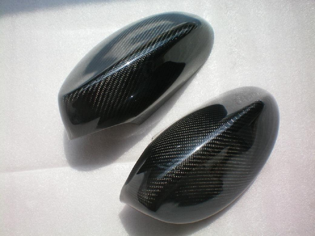 Carbon Fiber Mirror Covers Replacement For BMW 3 Series Coupe E92 2006-2010 3...