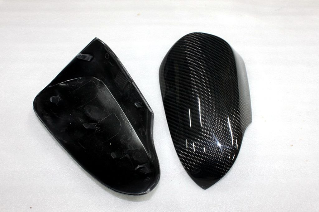 Carbon Fiber Mirror Covers Replacement For Toyota Aurion 2013-2014