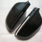 Carbon Fiber Mirror Covers For Audi A8 D3f 2005-2009