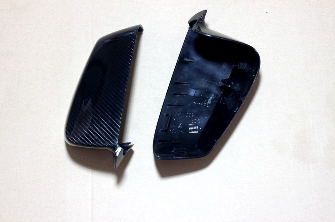 Carbon Fiber Mirror Covers Replacement For BMW 6 Series Convertible F12 640i 650i 2011-2014