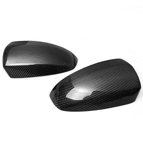 For 08 09 10 11 12 BMW X6 E71 X5 E70 Real Carbon Fiber Side Mirror Covers Trim