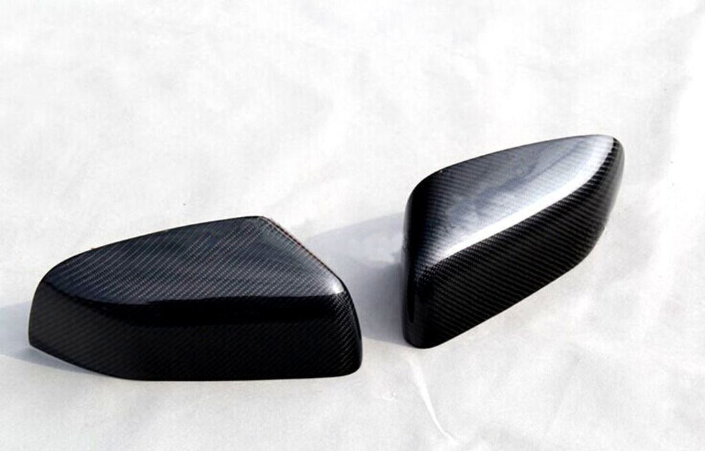 Carbon Fiber Mirror Covers For Land Rover Discovery LR3 LR4 2005-2013