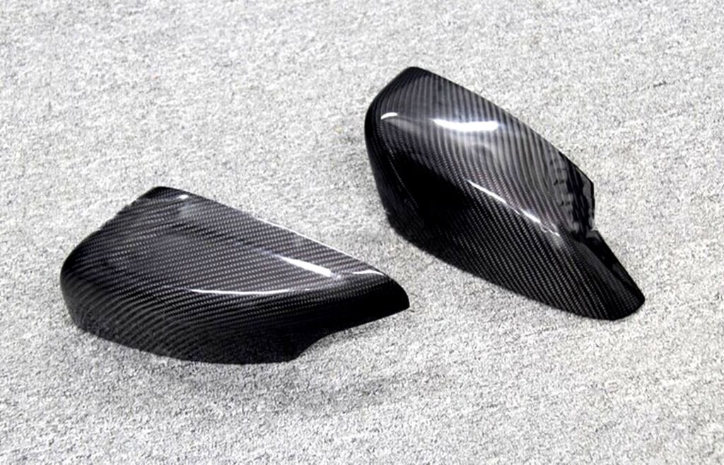 Carbon Fiber Mirror Covers For Volvo S40 2007-2014