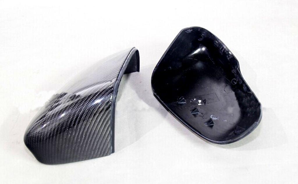 For Jaguar XKR 2009-2014 Carbon Fiber Mirror Covers Replacement