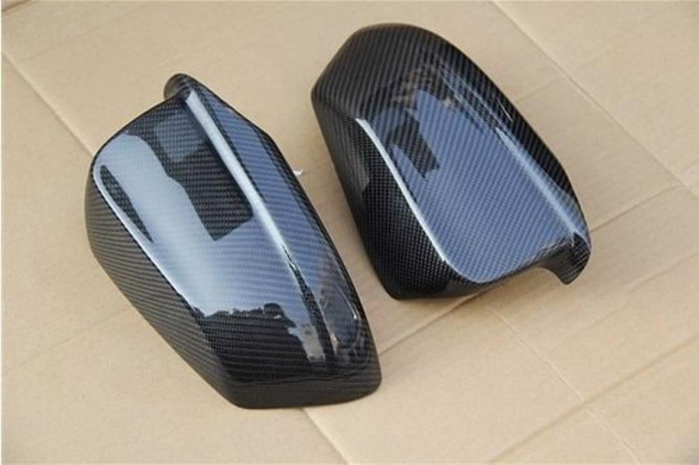 Carbon Fiber Mirror Covers Replacement For BMW 5 Series F10 2009-2013 B-Style