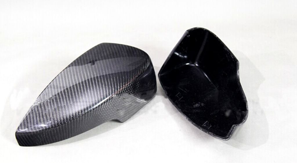 Carbon Fiber Mirror Covers Replacement For Ford Ecosport 2013 2014